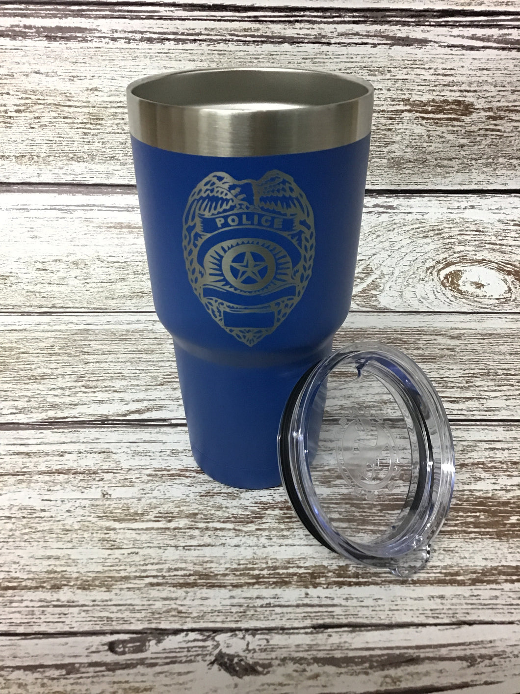 Police Blue Tumbler