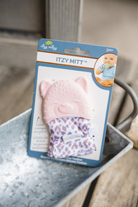 Kitty Cat Itzy Mitt Teething Mitt