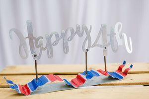 Happy 4th Ribbon