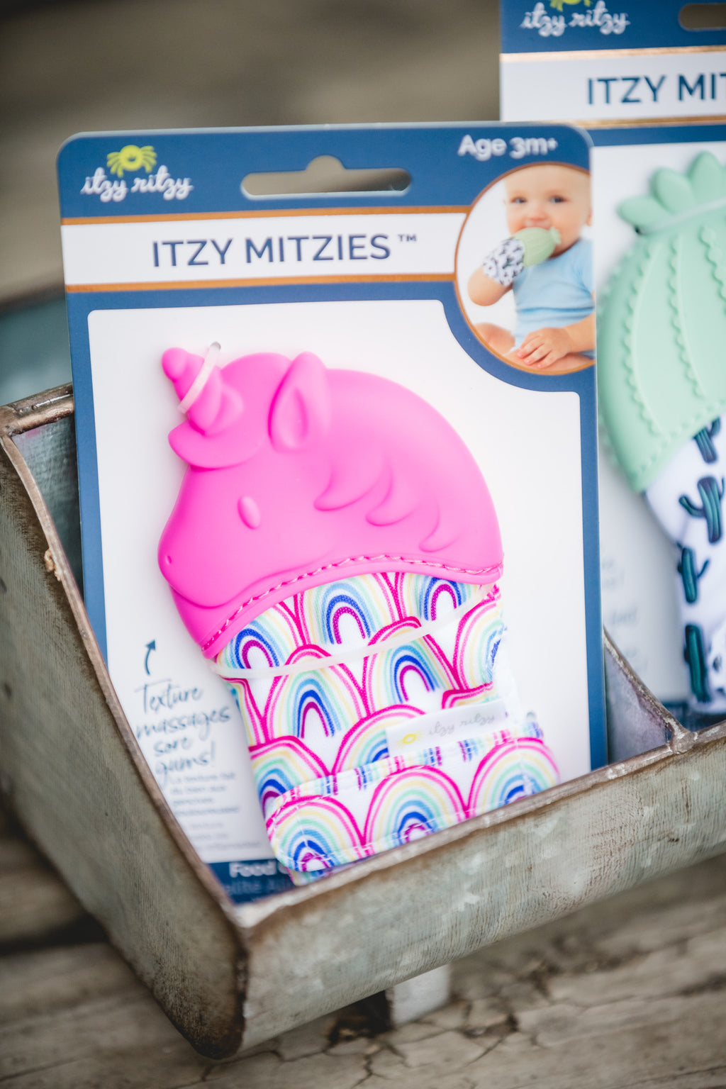 Unicorn Itzy Mitt Teething Mitt