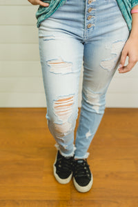 Avery Light Wash Denim