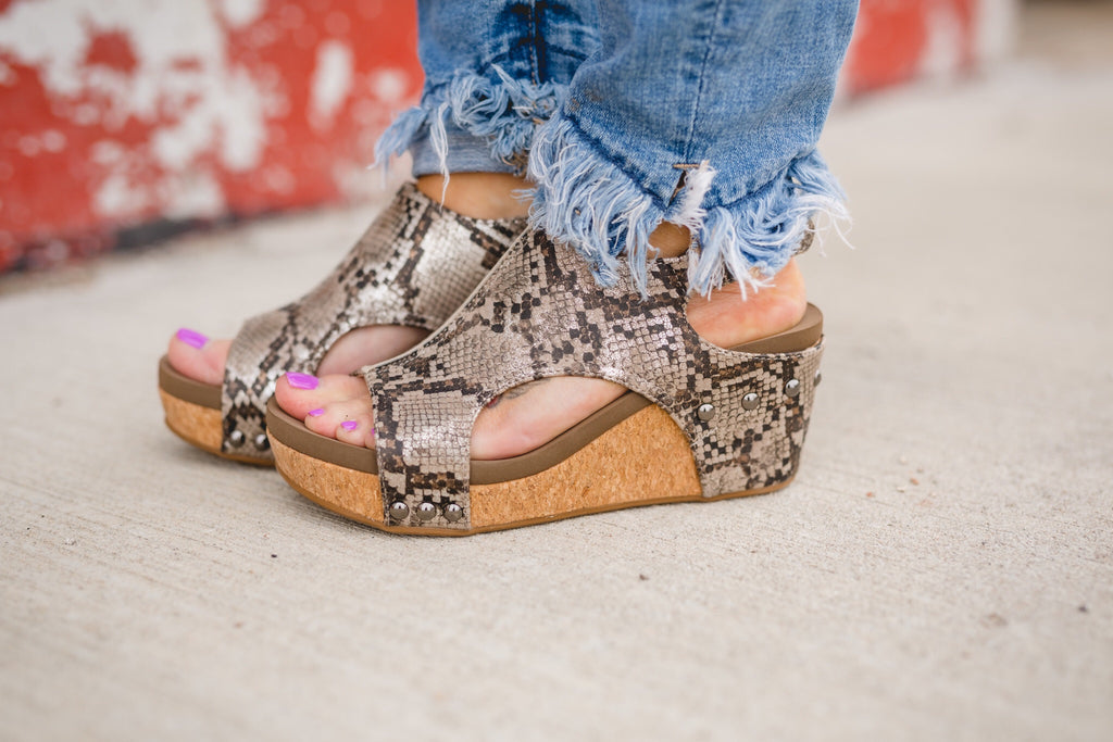 Snake Carley Wedge