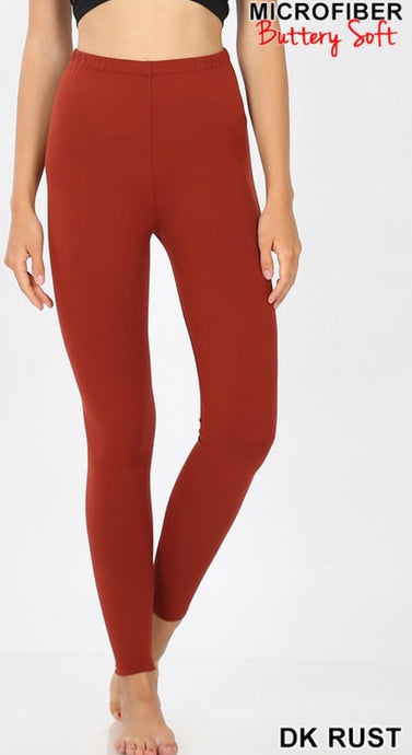 Rust Solid Legging