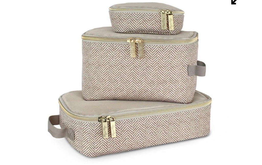 Diaper Bag Packing Cubes- Taupe