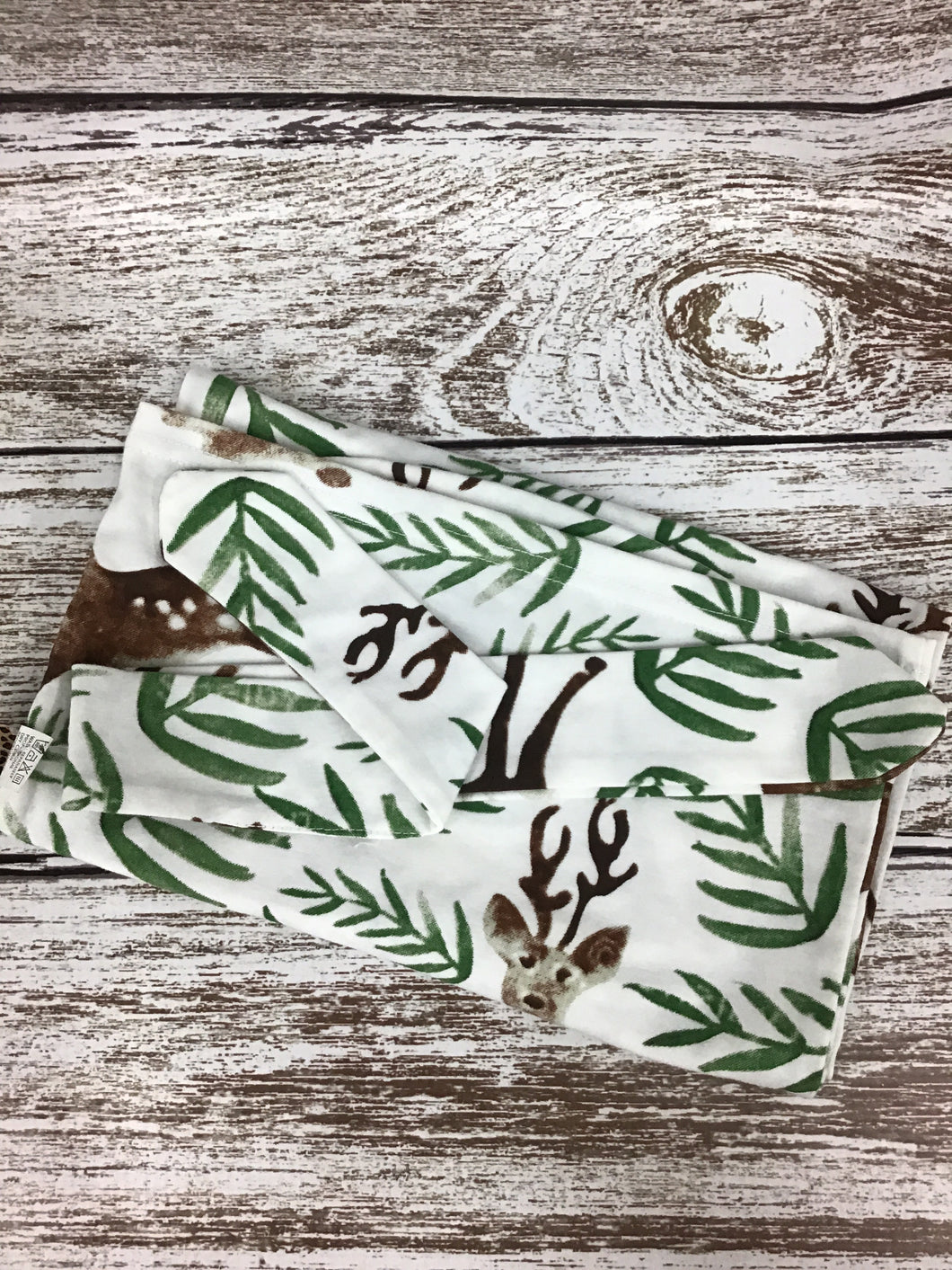 baby pouch and bow set- deer