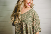 Codi-Olive Animal Top