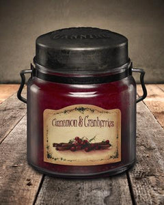 Cinnamon & Cranberries Candle