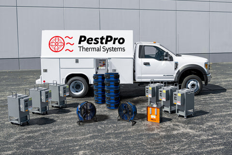 PestPro Thermal Bed Bug Beast electric bed bug heater truck