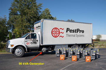 The Bed Bug Beast ™ 18 Heater Truck