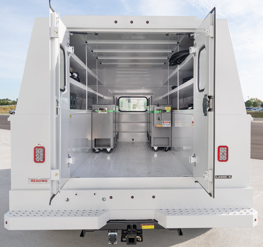 Interior view of Bed Bug Heater Truck | PestPro Thermal