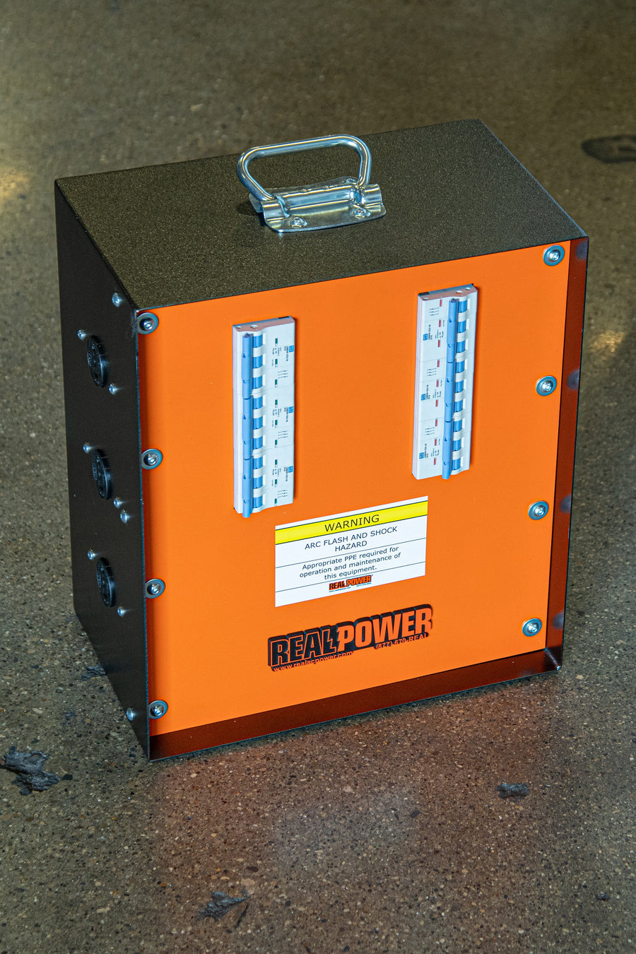 Real Power energy supply unit for external heating pest control.