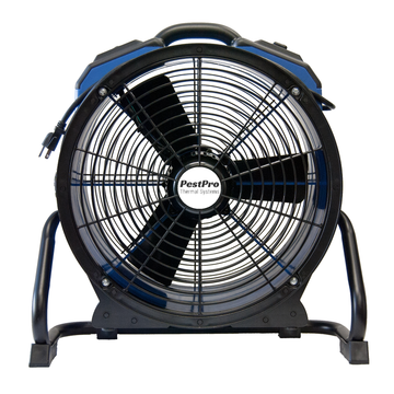 Fans move heat around the room you're treating for bed bugs.