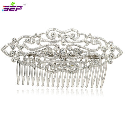 Wedding Hair Pins Accessories Crystals Rhinestone Palace Tiaras Hair Comb  COXBY083 - sepbridals