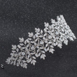 Cubic Zirconia Bridal Wedding Soft Headbands Hairband Hair Accessories CHA10008 - sepbridals