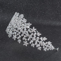 Cubic Zirconia Bridal Wedding Soft Headbands Hairband Hair Accessories CHA10009 - sepbridals