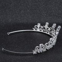 Cubic Zirconia Wedding Bridal Tiara Diadem Hair Jewelry CH10290 - sepbridals