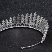 Cubic Zirconia Wedding Bridal Tiara Crown Diadem Hair Accessories CH10272 - sepbridals