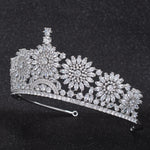 Cubic Zirconia Wedding Bridal Tiara Diadem Crown  CH10314 - sepbridals
