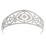 Cubic zircon wedding  bridal royal tiara diadem crown CH10332 - sepbridals