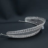 Zirconia Royal Replica Tiara for Wedding,Crystal Queen's Tiaras for Bride CH10356
