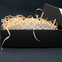 Cubic Zirconia Princess Wedding Tiara for,Crystal Tiaras Diademe for Women CH10376