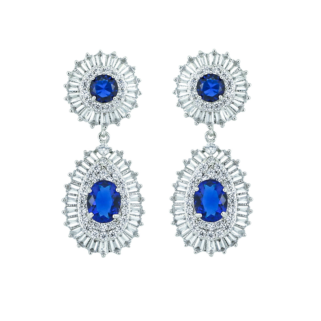 Wedding Earring Zircon Drop Dangle Earring CE10039 - sepbridals