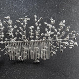 Classic Pearls Crystals Rhinestone Big Bridal Wedding Headbands Hair Combs 0621RP - sepbridals