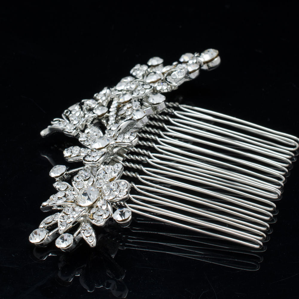 Rhinestone Crystal Wedding Bridal  Hairpins Hair Comb CO2256 - sepbridals