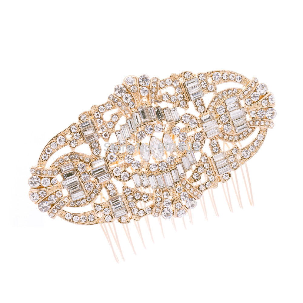 Rhinestone Crystal Wedding Bridal  Hairpins Hair Comb CO5186 - sepbridals