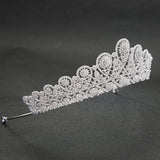 Cubic zircon wedding bridal tiara diadem hair jewelry S00037T1 - sepbridals