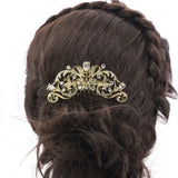 Rhinestone Crystal Drop Zircon Bridal Wedding Hair Side Comb  Wedding Hair CO2253R - sepbridals