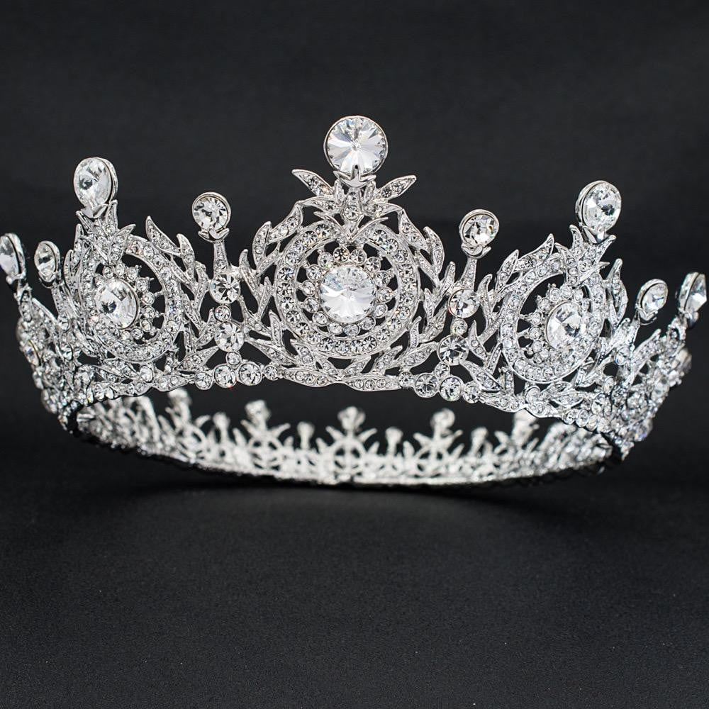 Real Austrian crystals Taira for wedding, bridal royal tiaras diadem SHA8641 - sepbridals