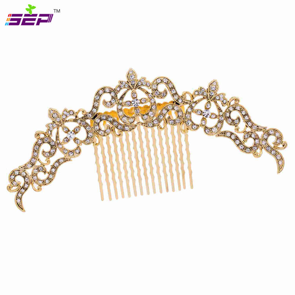 Rhinestone Crystal Wedding Bridal  Hairpins Hair Comb  COXBY077 - sepbridals
