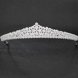 Cubic zircon wedding bridal tiara diadem hair jewelry CH10105 - sepbridals