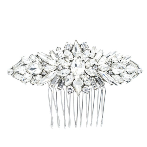 Crystals Rhinestone Hair Comb  Hairpins Bridal Wedding Hair Accessories 4364 - sepbridals