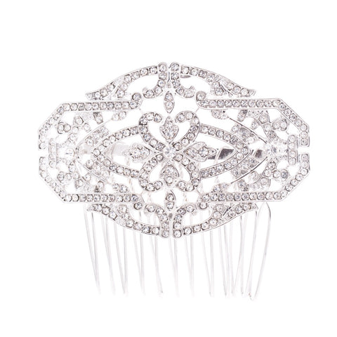 Rhinestone crystal Wedding Bridal Hair Side Comb  GT4368 - sepbridals