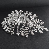 Crystals Rhinestone Big Bridal Wedding Headbands Tiara Hairband Hair Accessories HG085 - sepbridals