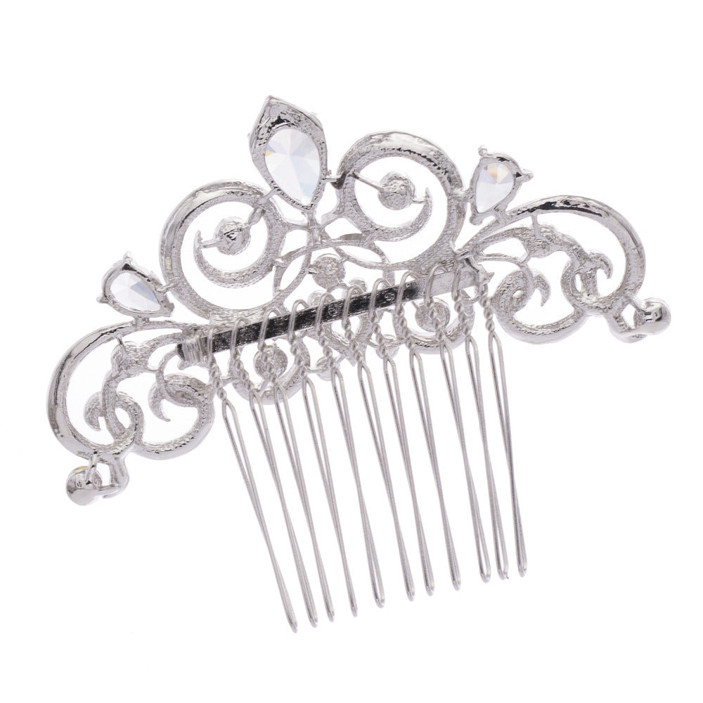 Rhinestone Crystal Wedding Bridal  Hairpins Hair Comb  CO2309R - sepbridals