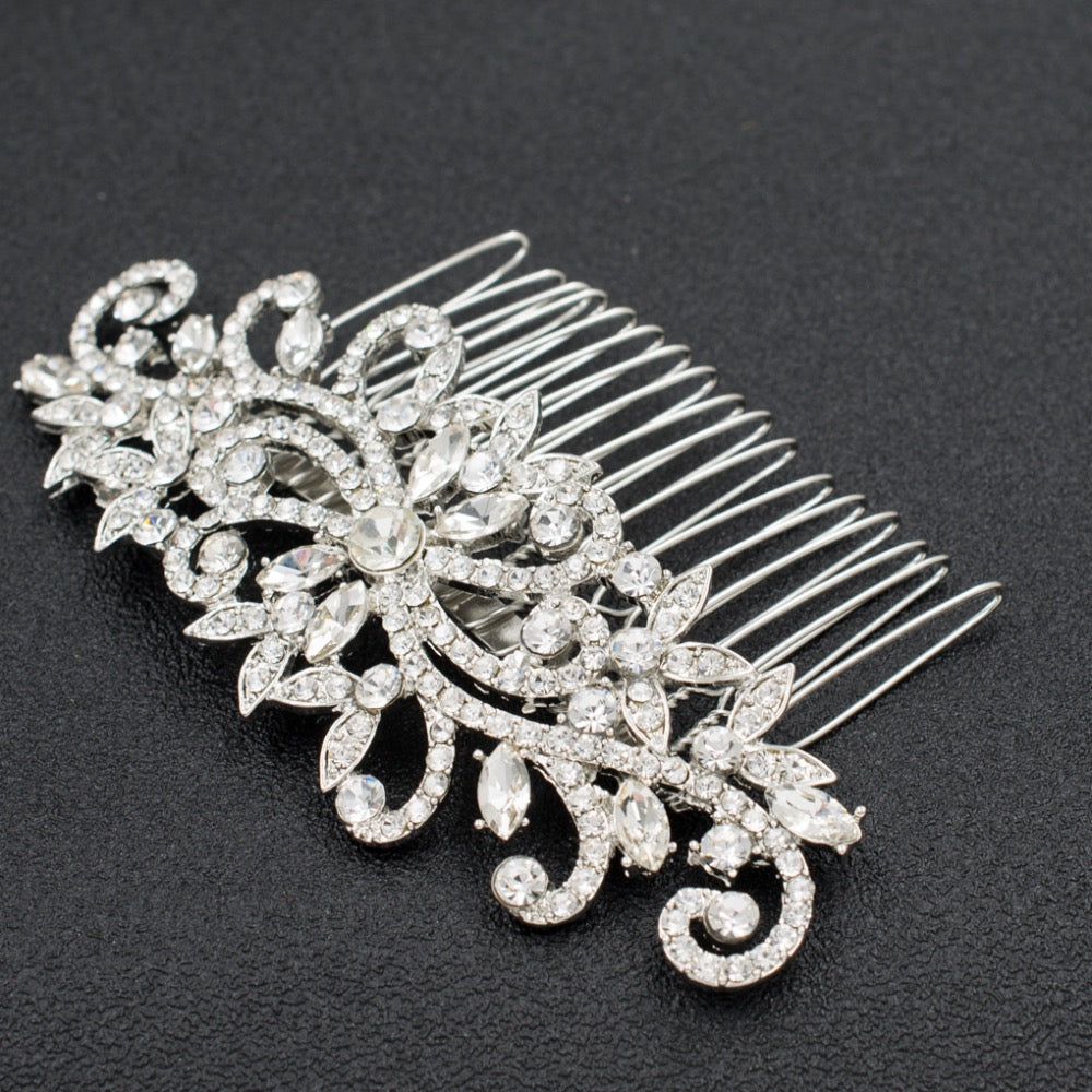 Rhinestone Crystal Wedding Bridal  Hairpins Hair Comb GT4394 - sepbridals