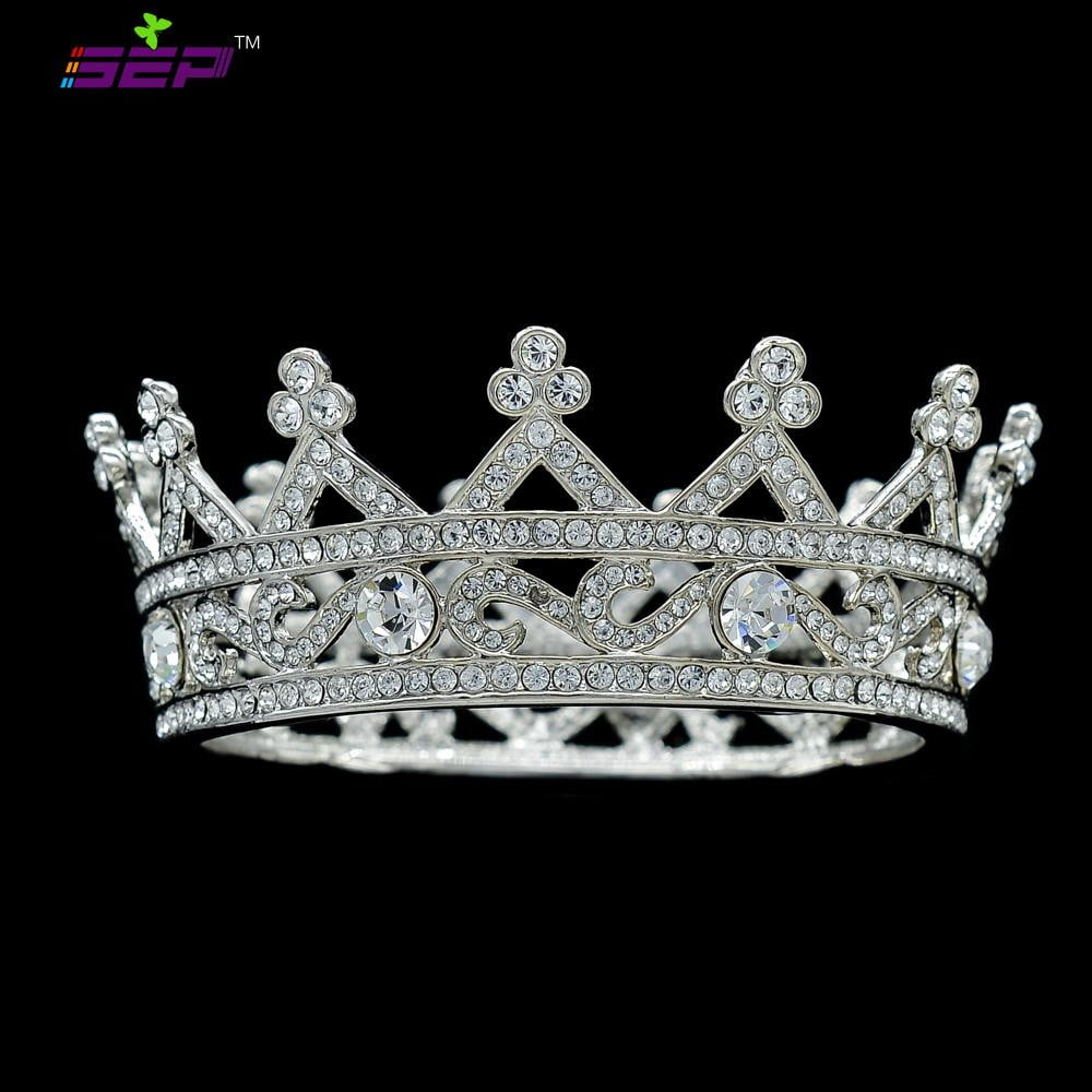 Austrian Crystals Little Girl Flower Tiara Crown SHA8578 - sepbridals