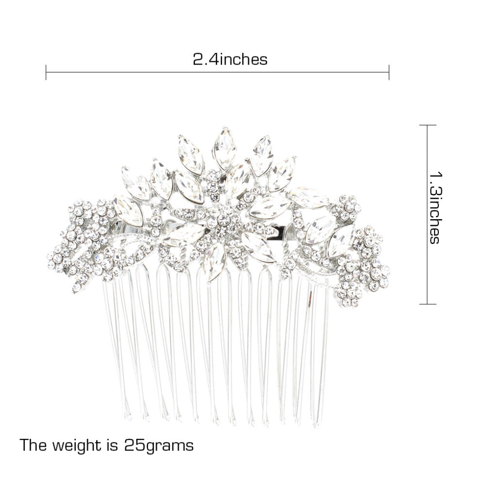 Rhinestone Crystal Wedding Bridal  Hairpins Hair Comb  FA5071 - sepbridals