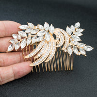 Rhinestone Crystal Wedding Bridal  Hairpins Hair Comb GT4403 - sepbridals
