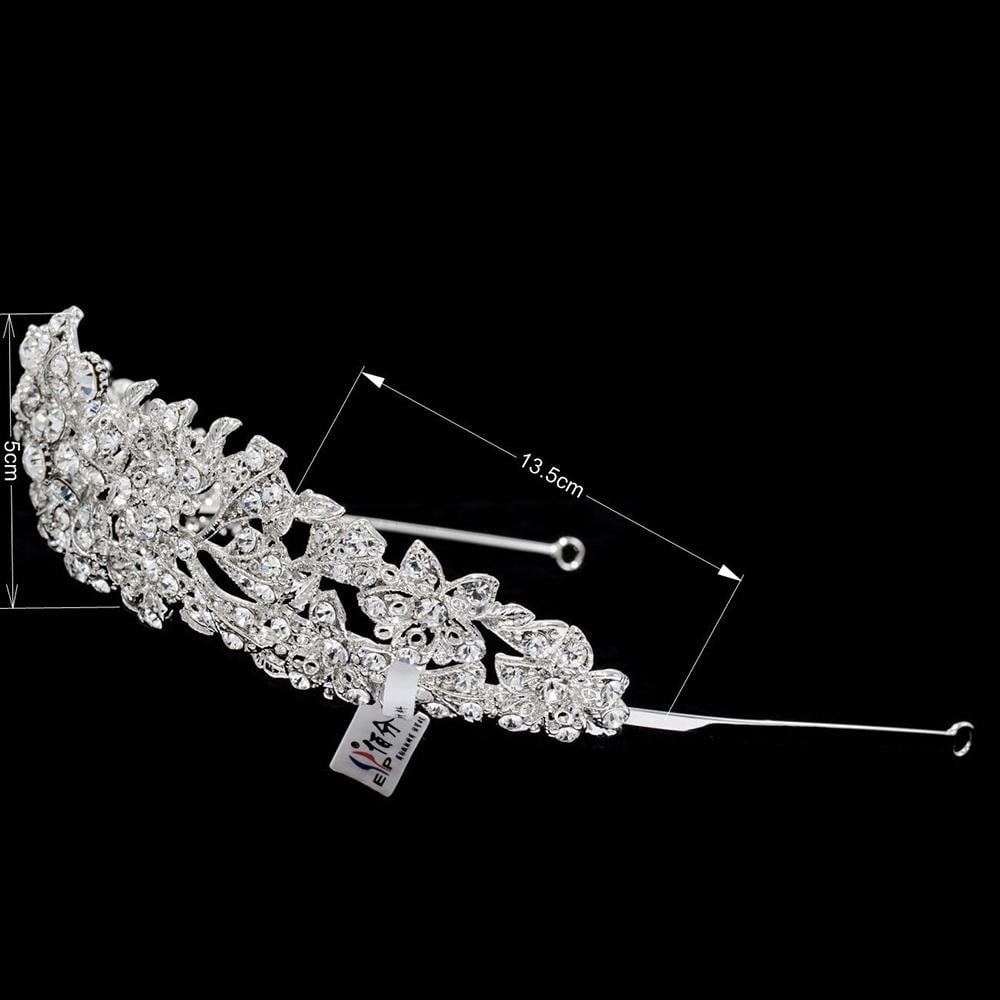Austrian Crystals wedding bridal royal tiara diadem crown JHA4714-6 - sepbridals