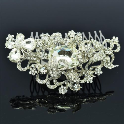 Rhinestone Crystal Wedding Bridal  Hairpins Hair Comb CO8804907 - sepbridals