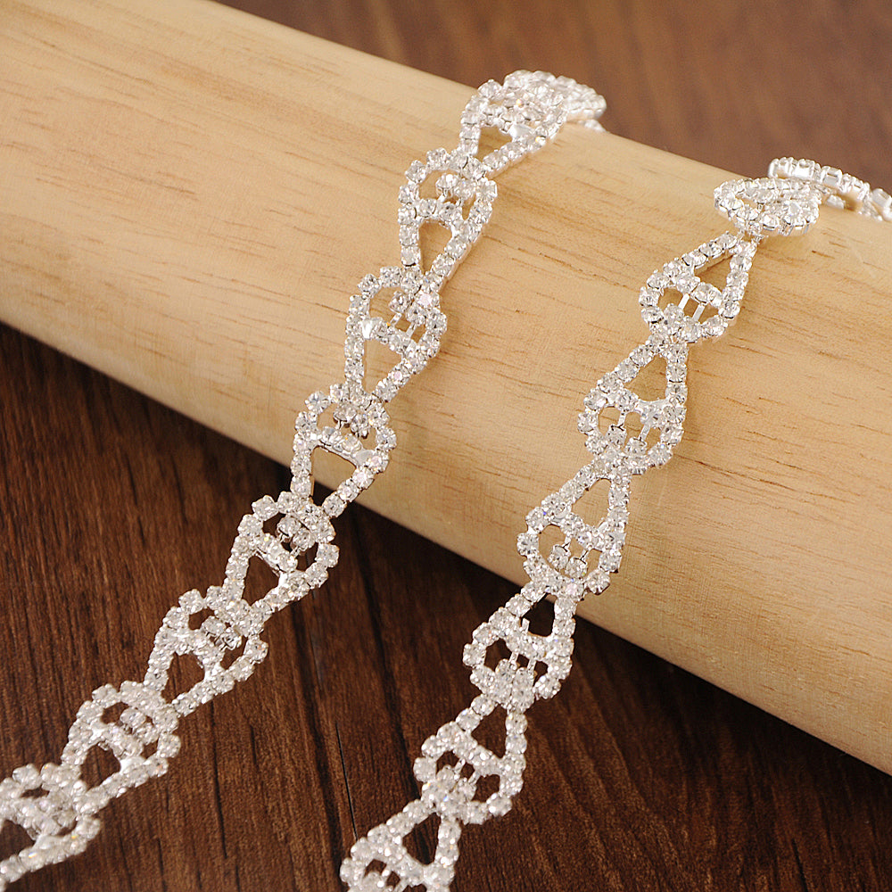 Handmade Rhinestone Crystals Bridal Sash Wedding Dress Belt S303 - sepbridals