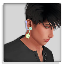 Load image into Gallery viewer, HD Opacity Earrings 1 Left & Right  (MALE)