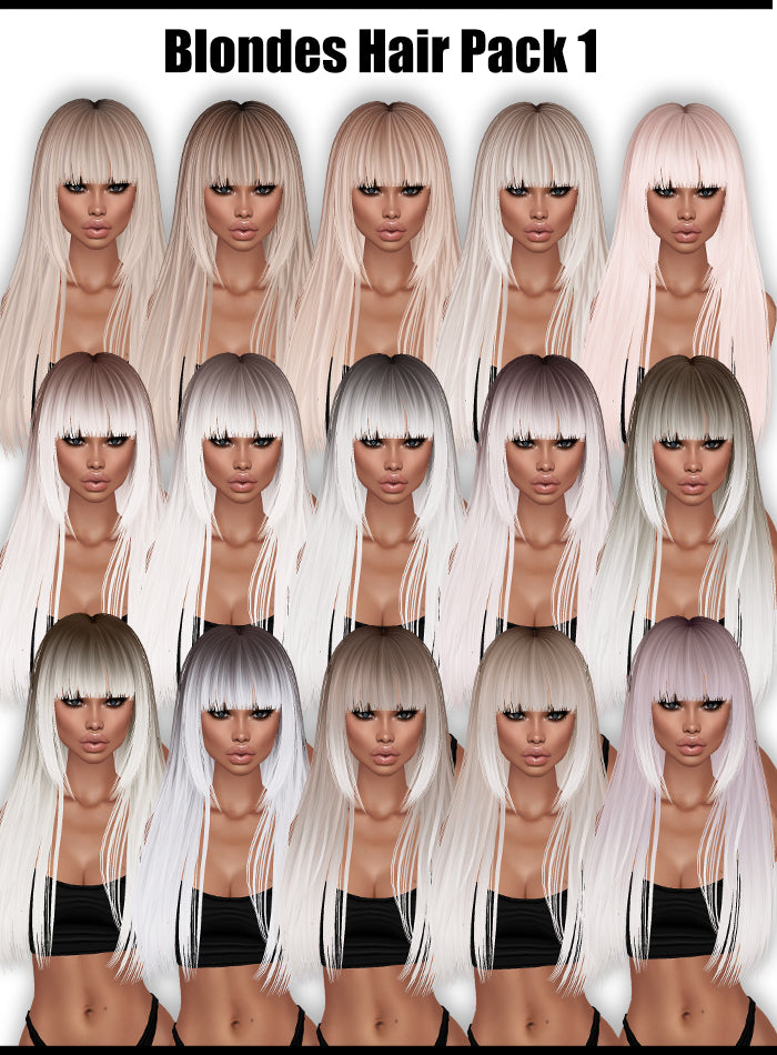 Blondes Hair '19 (Pack)