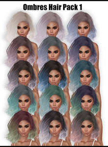 Ombre Hair Colors (Pack)