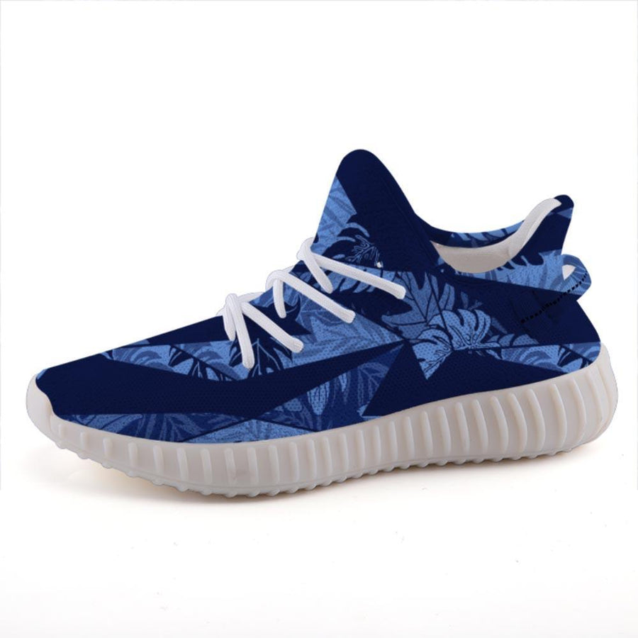 Shop Nixxle handmade apparel sneakers Shoes US 3 Men - US 5 Women (35 EU) Float 365 - Blue Lagoon Tropical