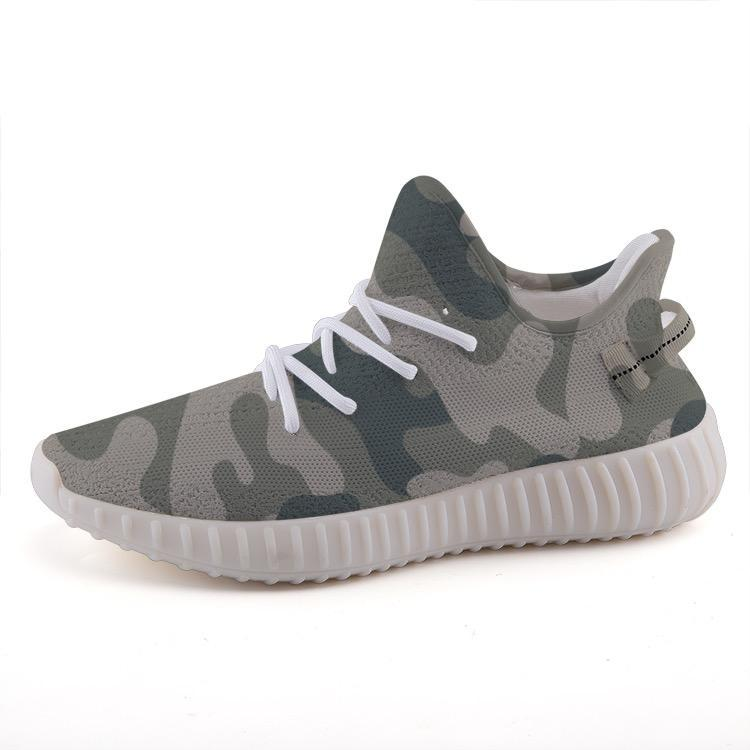 Shop Nixxle handmade apparel sneakers Shoes 35 Float 365 - Green Camo